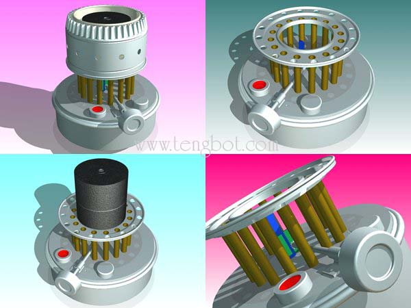 3D MODEL COLLECTION PALM OIL MILL MACHINERY THE ACTUAL SIZE