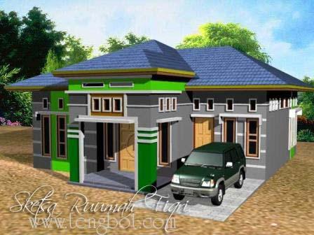 Rumah Sederhana Minimalis on Gambar Model 3d Rumah Minimalis Sederhana By 7119dtk Tengbot Inventor
