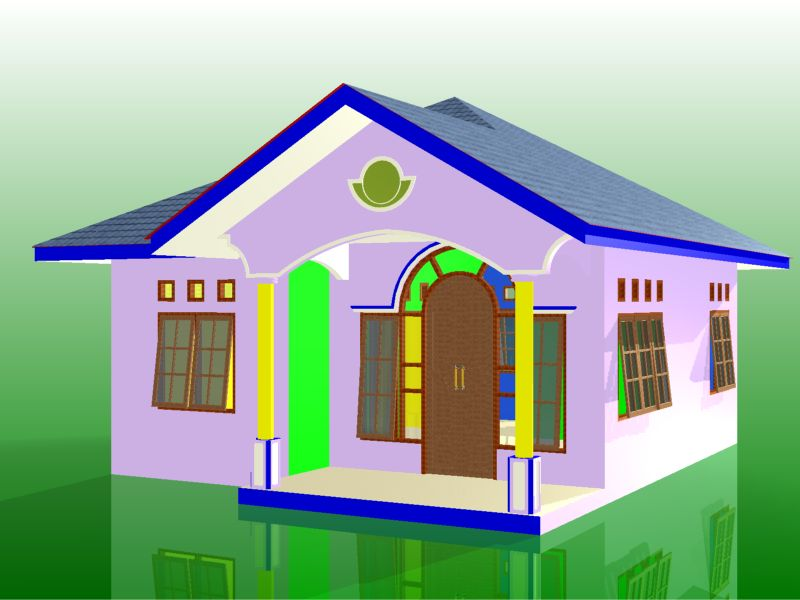 Pics Photos  Gambar Model 3d Rumah Minimalis Sederhana By