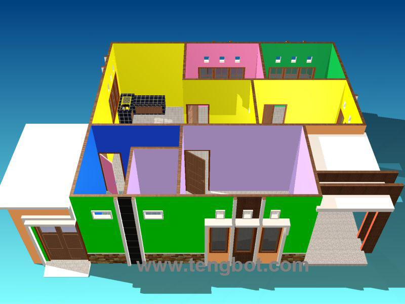 Download Desain Rumah Minimalis Dwg  3d model collection palm oil mill machinery the actual size